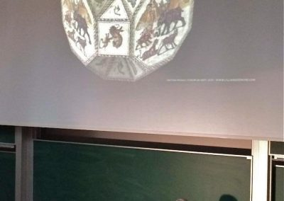 Lillian Sizemore, Lillian lecturing at King's College, London, UK. Her presentation is on YouTube and Vimeo.