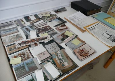 O'Connor's archive of location and process photos, now part of the Huntington Library collection
