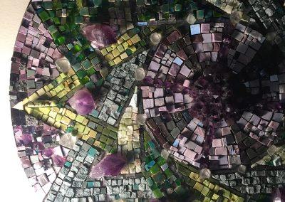 Lillian Sizemore, 7x12 Mosaic Mandala
