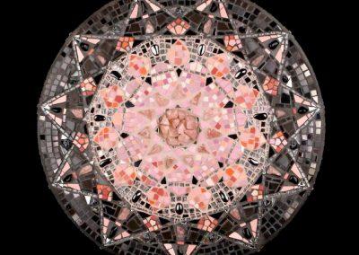 Lillian Sizemore, Diamond Heart Mosaic Mandala