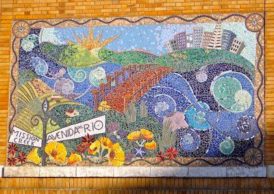 Lillian Sizemore, Mission Creek Mural