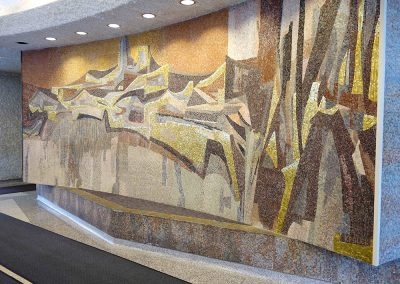 FORWARD, 1963, lobby of Milwaukee State Office Building, Photo: Lillian Sizemore