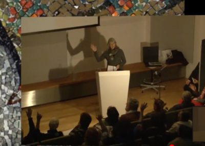V&A Museum London, BAMM conference, Gino Severini, still from YouTube lecture